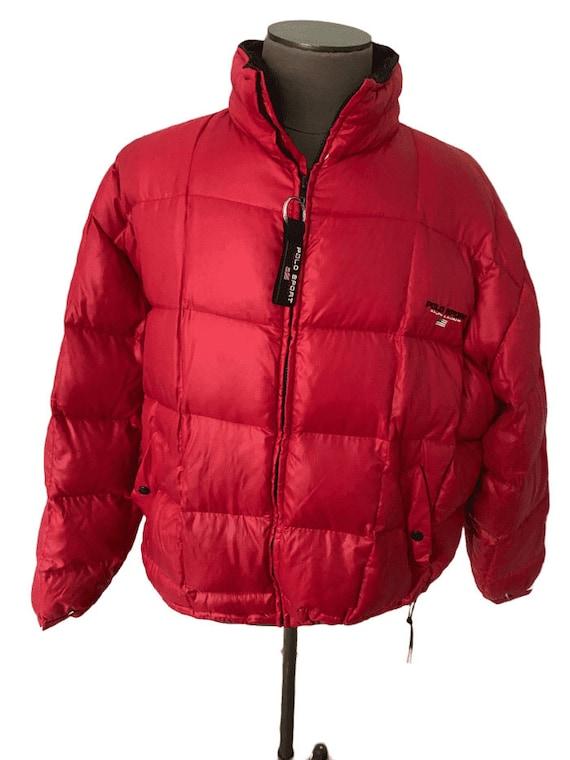 Vintage 1980s Ralph Lauren puffer jacket