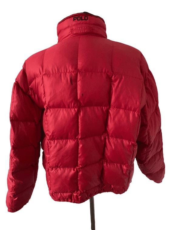 Vintage 1980s Ralph Lauren puffer jacket - image 2