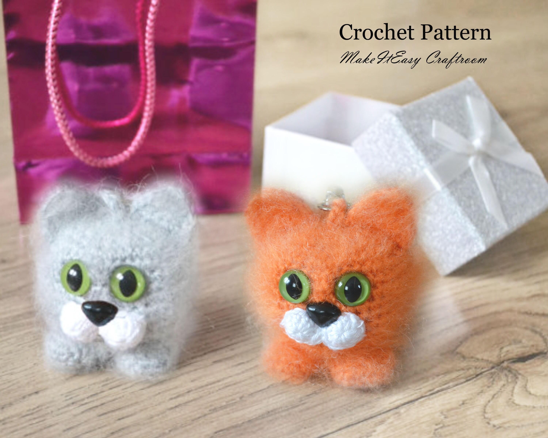 Amigurumi Unicorn Keychain Crochet Free Patterns - Crochet & Knitting | 2400x3000