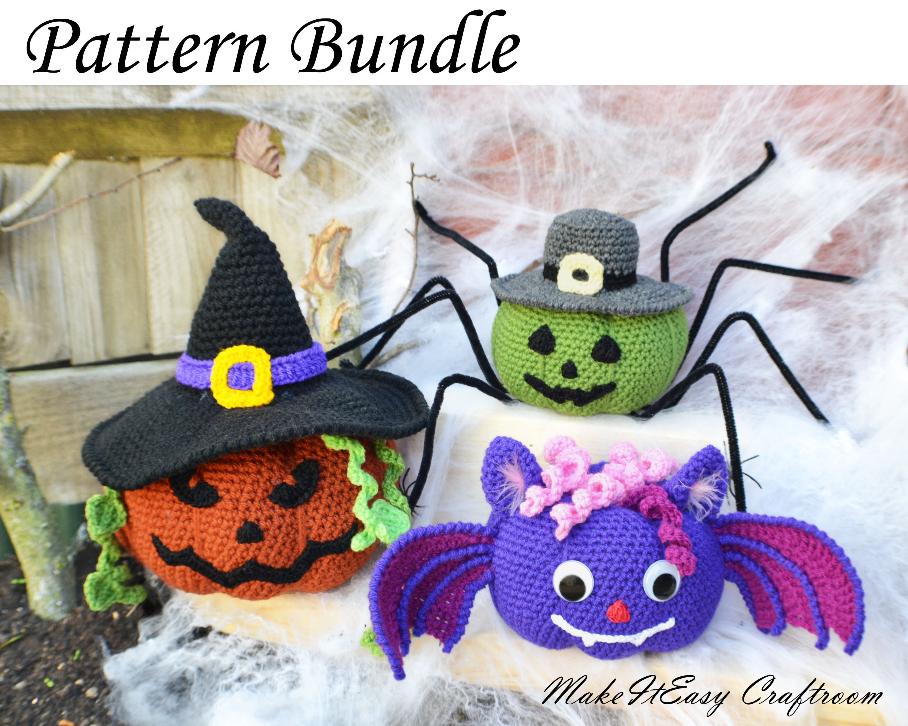5 Little Monsters: 16 Halloween Crochet Projects: Costumes, Decor ... | 2400x3000