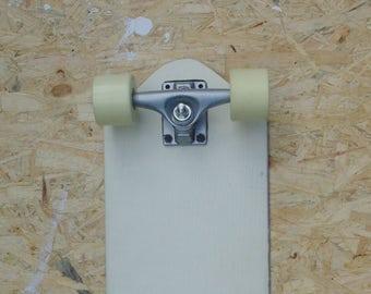"Up-cycled  White Cruiser Skateboard 22"""