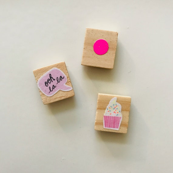 Set of 3 magnets
