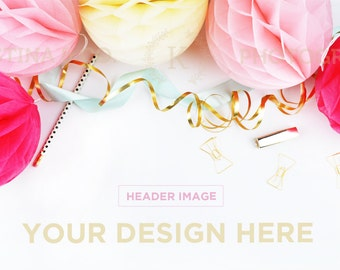 Download Free Styled Stock Photography | White desk Styled Desktop | Wedding | Product Mockup | Product Photography PSD Template