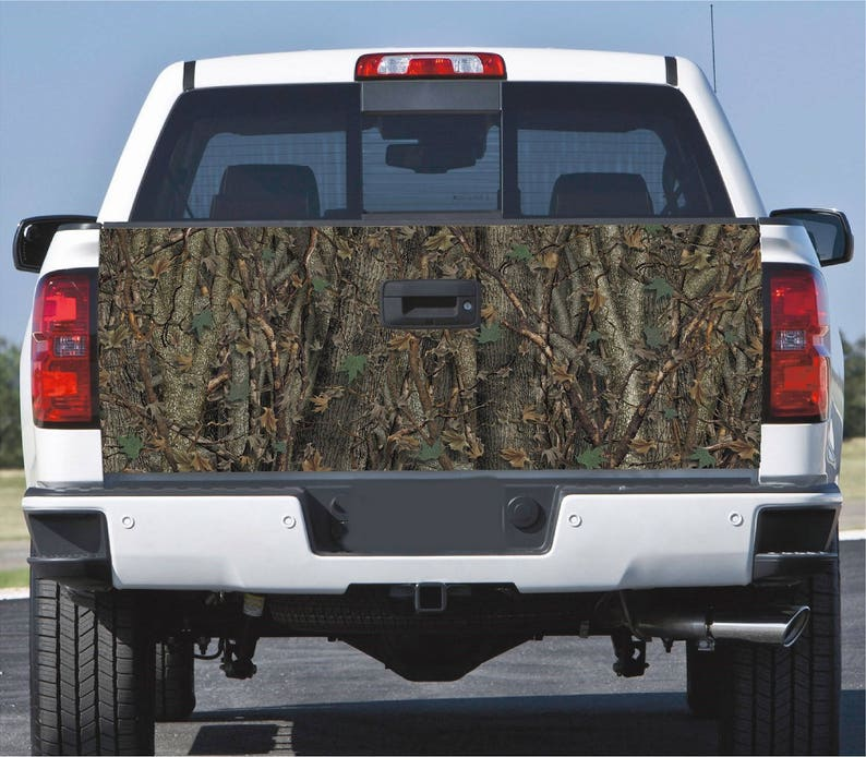Truck Tailgate Wrap Decal Fly Fishing Brown Trout 3m Vinyl 7Yr
