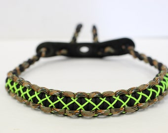 Custom Wrist Sling Black And Neon Green