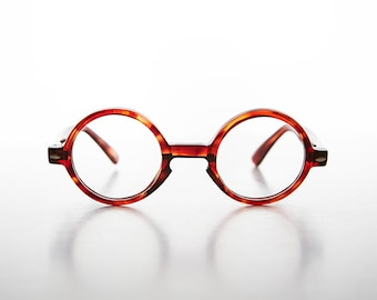 2f78b67a574 Round Harry Potter Style Clear Lens Glasses   Optical Quality Frame  -Theodore