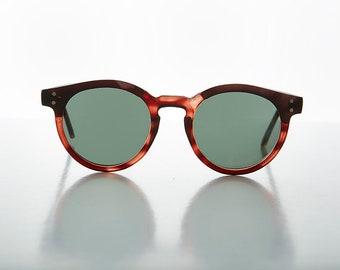 f49b56b967772 Round Horn Rim P3 Classic Pantos Vintage Sunglass with Glass Lens   Optical  Quality Frame -Brad