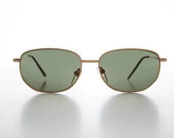 c0092b15fb3db Gold Square Classic Optical Quality Unisex Vintage Sunglass - Chevy