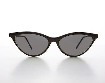 7eb76e49ed8f8 90s Thin Pointed Tip Classic Women s Cat Eye Sunglass   Optical Quality  Frame - Julie