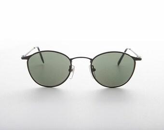 c7db86e826 Round Metal Polo Schoolboy Classic Vintage Sunglasses   Optical Quality  Frame - Rory