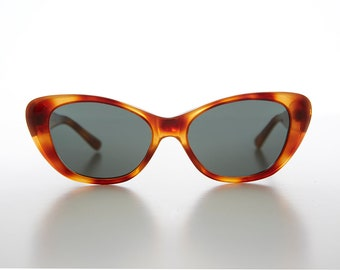 b5408ad872 Cat Eye Sunglass with Optical Glass Lens Vintage 90s   Optical Quality  Frame - Delia