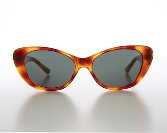 b5408ad872 Cat Eye Sunglass with Optical Glass Lens Vintage 90s   Optical Quality  Frame - Delia