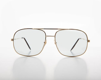 01b4996652 Square Metal Vintage Aviator Glasses & Sunglasses with Transition Lens - Bandit