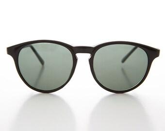 130142e94fab0 Hipster Round Indie Retro P3 Horn Rim Vintage Sunglass   Optical Quality  Frame - Preston