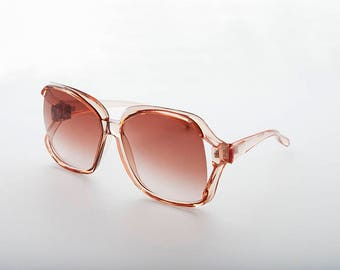 0d2124b422 Oversized Women s Square Jackie O French Cut Vintage Sunglass - Ibiza 1