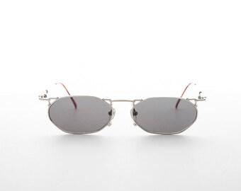 0caf932a4b Victorian Goth Steampunk Vintage Rectangular Sunglasses - Ned