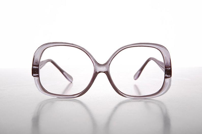 623693be0bdc Square Oversize Women s Clear Lens Eyeglasses   Secretary