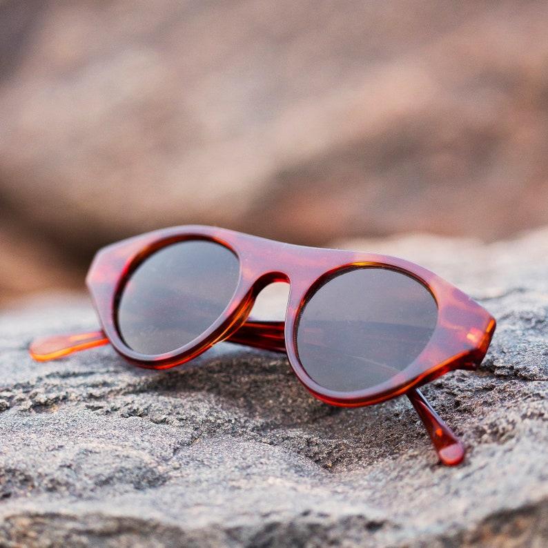 Vintage High-Fashion MATRIX Style Rectangle Lunettes de soleil