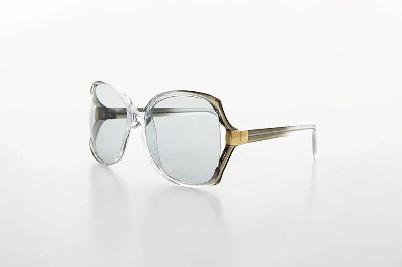 0561184284a Big Square Women s Sunglasses   Glass Corning USA