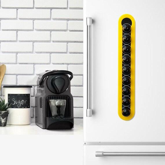 Nespresso gelb Kaffee Pod Halter schwarze magnetische Küche | Etsy