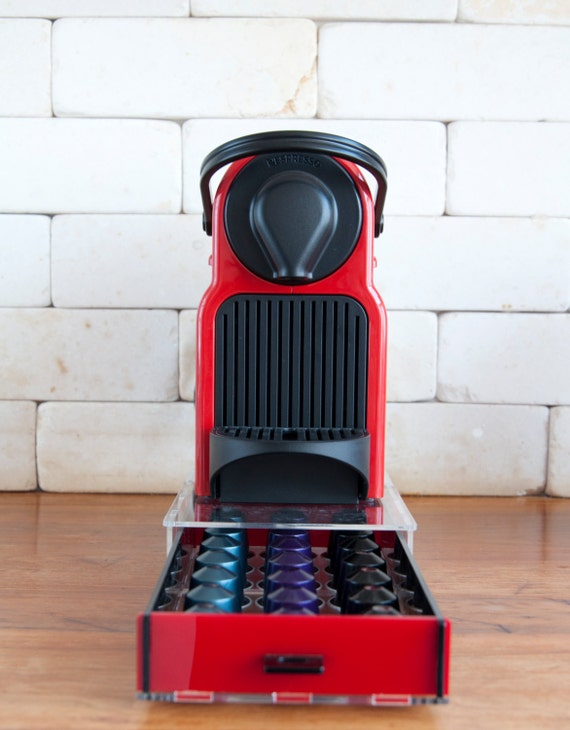 12 Pod Holder Coffee Capsule Storage Stand Rack Plastic Dispenser for Nespresso