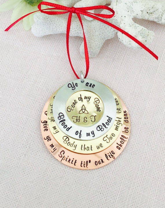 Celtic, Scottish Blood Vow Christmas Ornament