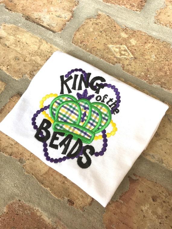 King of the Beads - Mardi Gras Shirt