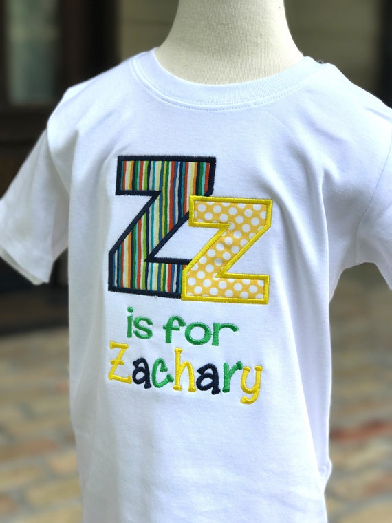 Back to school alphabet shirt