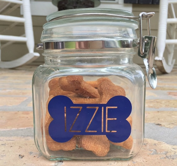 Southern Pup - Dog Bone Treat Jar