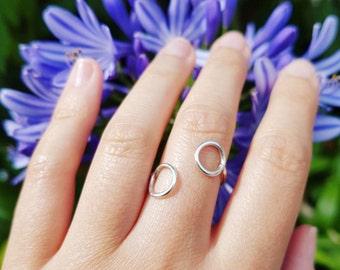 Ring two circles