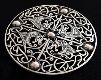 Galloway Hoard Silver Brooch