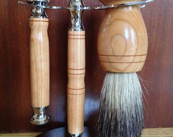 Modern Three pcs. Gentleman's Shaving Set