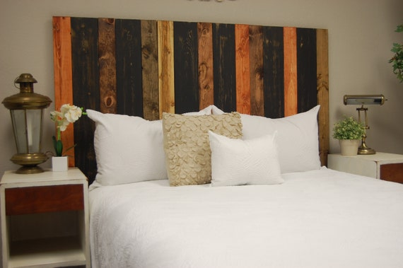 Cabin Mix Headboard Twin Size Leaner Style Handcrafted Etsy