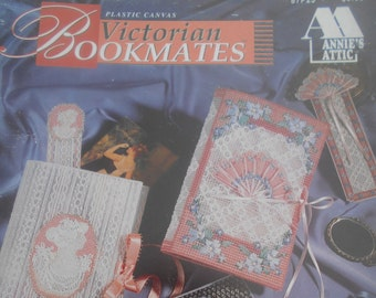 Victorian Bookmates, Annie's Attic, Pattern Leaflet #87P23