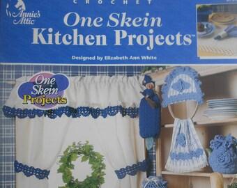 One Skein Kitchen Projects, Annie's Attic, Pattern Leaflet #872411, 2000
