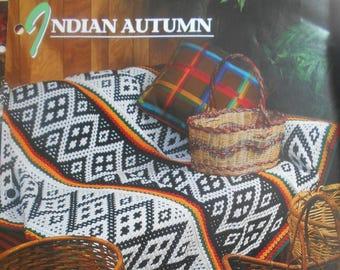 Indian Autumn, Annie's Attic, Pattern Leaflet #311-05, 1996