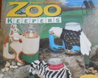 Zoo Keepers, Annie's Attic, Pattern Leaflet #87C55, 1992