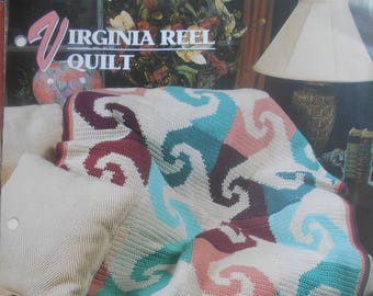 Virginia Reel Quilt, Annie's Attic, Pattern Leaflet #311-01, 1996
