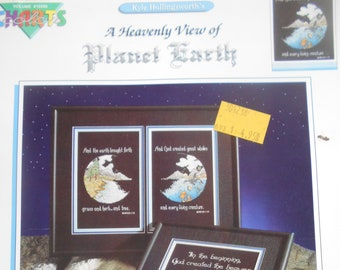 A Heavenly View of Planet Earth, Color Charts, Pattern Leaflet #10206, 1990