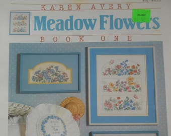 Meadow Flowers Book One, Dimensions, Pattern Leaflet #141, 1988
