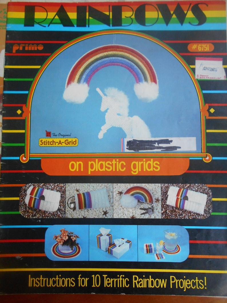 Rainbows Primo Pattern Leaflet #6751 1982