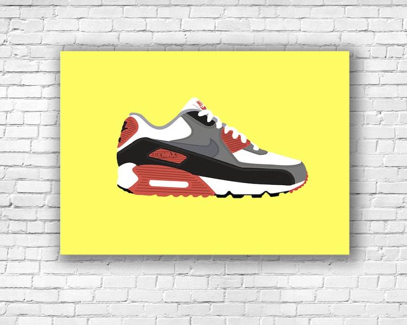 401f7d29f8f Nike Air Max 90 Illustration Print