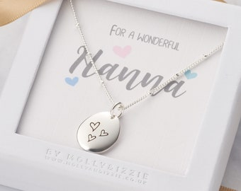 Custom Name Bar Necklace Grandma Auntie Godmother Gift Necklace Initial Necklace Nanna Grammy Necklace Gifts for Her