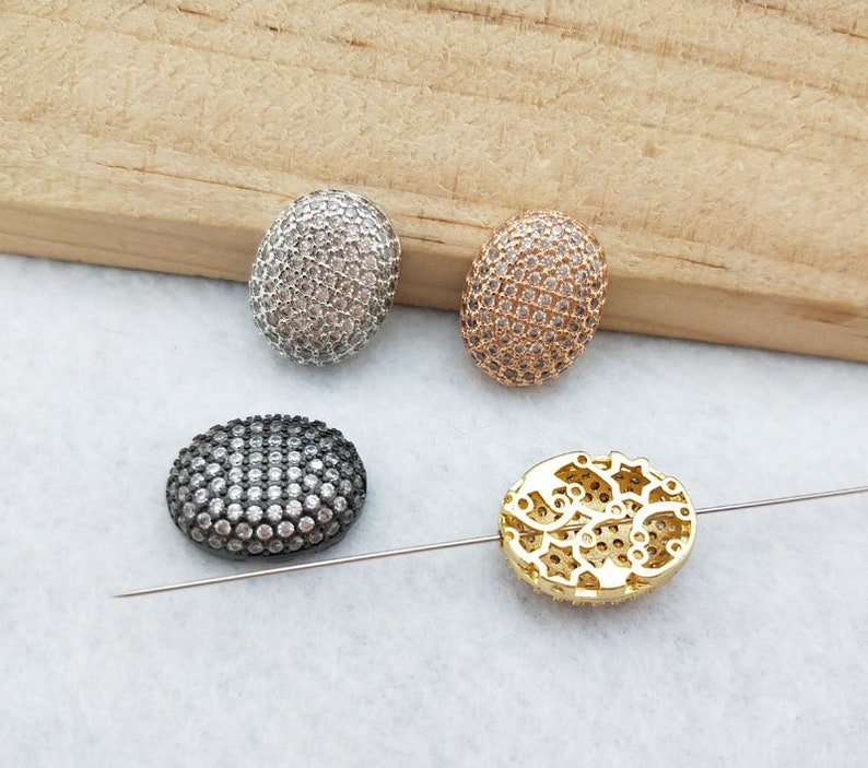 10 Pieces Tiny crystal Connector,CZ zircon Micro pave Pendant Charm Jewelry Finding for DIY Bracelet making BD351