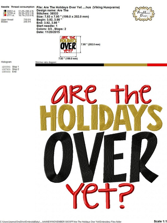 Are The Holidays Over Yet 4x4 5x7 6x10 7x11 8x8 Christmas Etsy