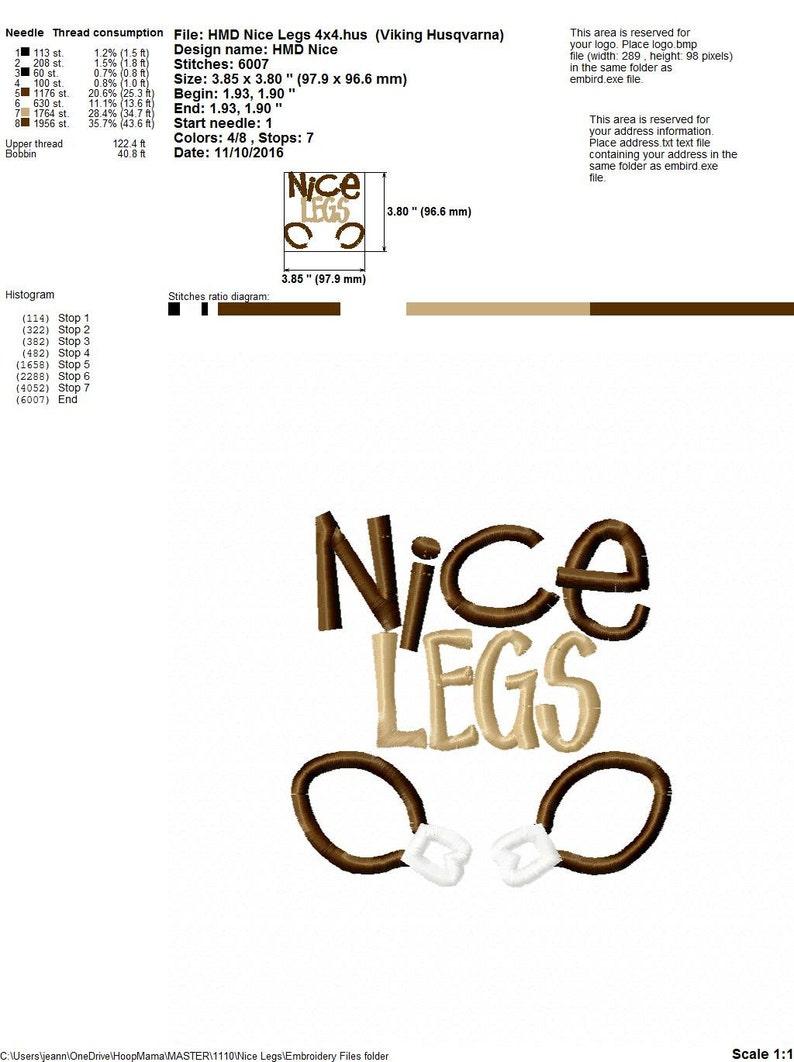 Thanksgiving Machine Embroidery Design- Nice Legs, 4x4 5x7 6x10 pes pec dst  hus jef exp xxx Turkey Leg Applique