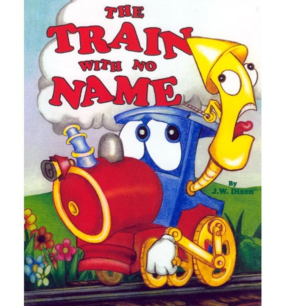 personalized books for kids the train with no name etsy