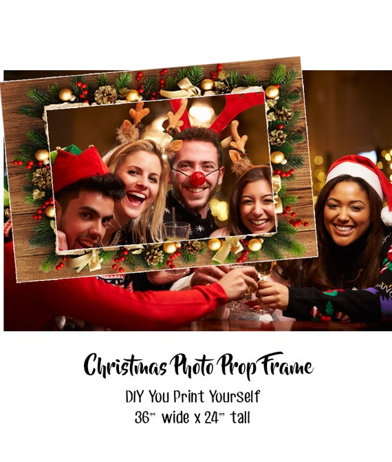 Photo Booth Prop Christmas Christmas Photo Booth Prop Etsy