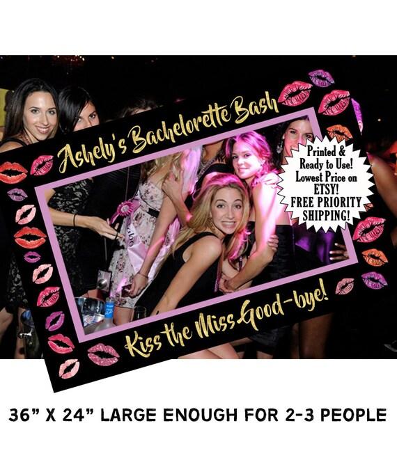 Photo Booth Frame Bachelorette Bachelorette Party Etsy