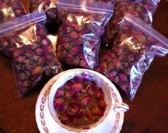 Organic Rosebuds For Tea